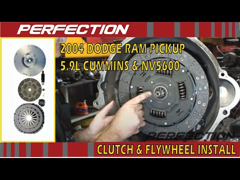 2004 Dodge Ram Pickup w/ 5.9L Cummins & NV5600 - Clutch and Flywheel Install