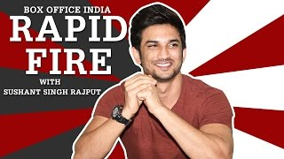 Rapid Fire  with Sushant Singh Rajput | M.S. Dhoni: The Untold Story | Box Office India