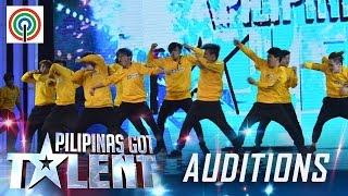 Pilipinas Got Talent Season 5 Auditions:  X-Breaker - Hip-hop Dance Group