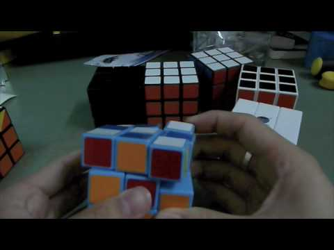Personal Reviews on Various Types of 3x3 DIY Cubes Part 1