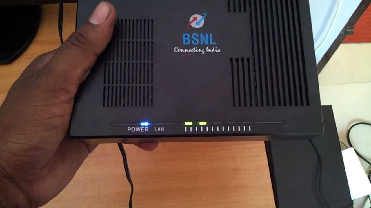 Bsnl Wimax Internal Modem Youtube