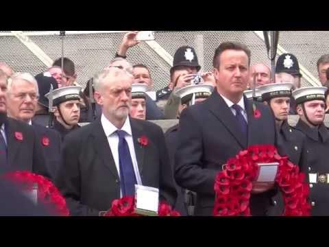 Remembrance Sunday moments, London 2015