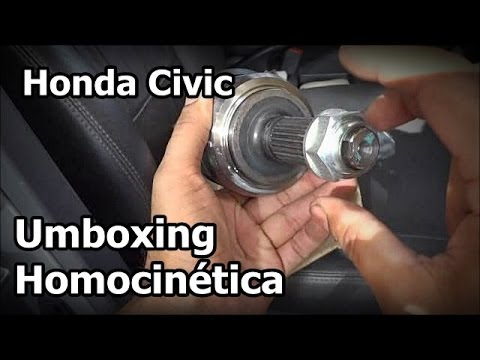 CIVIC 2005 - Umboxing Homocinética