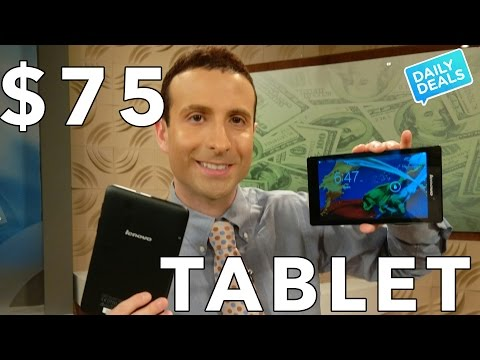 $75 Android Tablet ◄ Lenovo TAB 2 Deal ►The Deal Guy