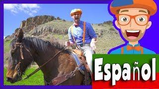 Un día en el Rancho para Niños | Blippi Español Video para Infantiles