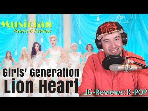 Girls' Generation 소녀시대 - Lion Heart REACT & REVIEW   JG-REVIEWS:K-POP