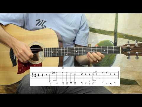 Deep Elm Blues - Guitar Lesson - Key Of E