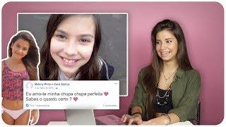 REAGINDO AO MEU FACEBOOK ANTIGO | Carly Santos