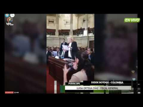 Bogotá - Luisa Ortega solicita captura internacional de Nicolás Maduro - VPItv