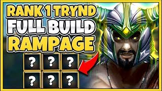 #1 TRYNDAMERE WORLD HYPER-CARRY BUILD (UNBEATABLE LATE GAME) - League of Legends