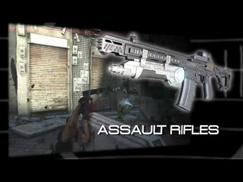 Binary Domain – Core Weapons MiniClip Trailer