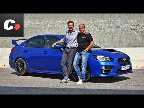 Subaru WRX STI con Dani Clos en circuito - Prueba / Test / Review Coches.net (2014)