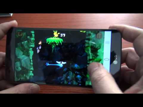 Videoreview Android: Rayman Jungle Run