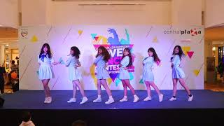 22/09/61 Girls Fail cover GFRIEND @Centralplaza Ramindra Cover Dance 2018 SS2