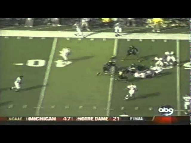 Horrible call: Refs incorrectly rule Duck possession on onside kick vs. OU 9-16-06