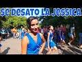 Se desató Jessica y la Niña Oso. Desfile por la independencia de la escuelita L?. Parte 2