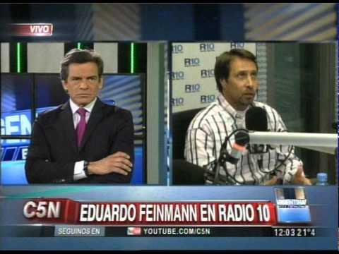 C5N - ARGENTINA EN VIVO: DUPLEX CON EDUARDO FEINMANN Y BABY ETCHECOPAR EN RADIO 10 AM 710