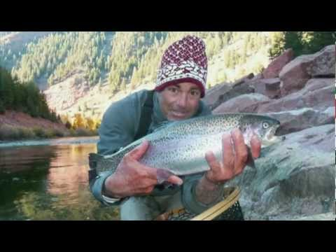 Lloyd Goes Fly Fishing in Colorado