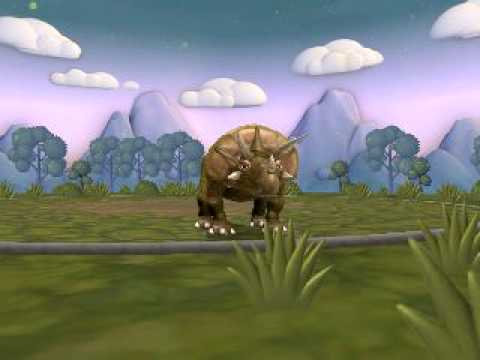 Spore New Triceratops Video