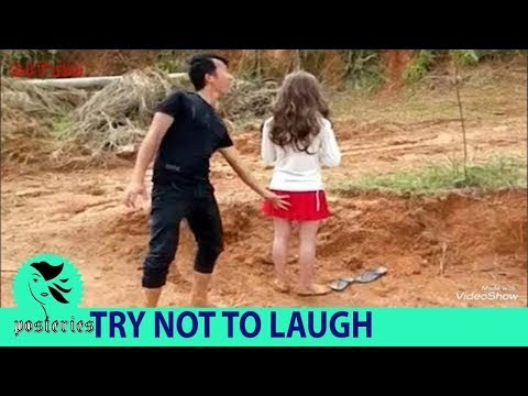 Try not to laugh Best funny prank 2018 whatsapp video 2018