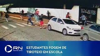 Imagens mostram estudantes fugindo de tiroteio em Suzano