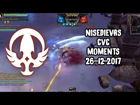 DN INA (95 lvl cap) PVP: Lunar Knight CVC moments (Captain vs Captain) (26 December 2017)