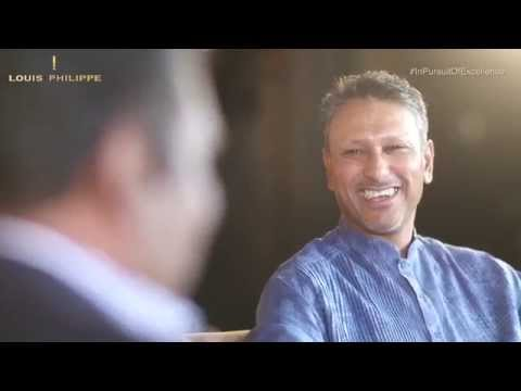Louis Philippe - In Pursuit Of Excellence | Uncut conversation - Jeev M Singh with Vijay Amritraj