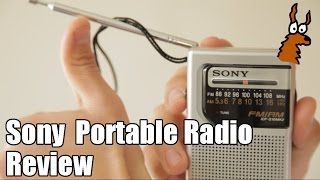 Sony Portable Radio (ICF-S10MK2) with Audio Test