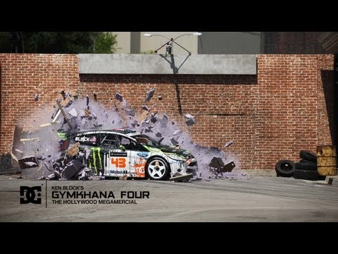 Dc Shoes: Ken Block's Gymkhana Four; The Hollywood Megamercial video