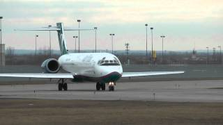 AirTran Boeing 717-200: Taxi and Takeoff KBUF