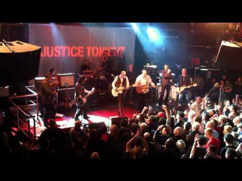 Justice Tonight with Mick Jones - Rush - Academy Dublin 30/3/12