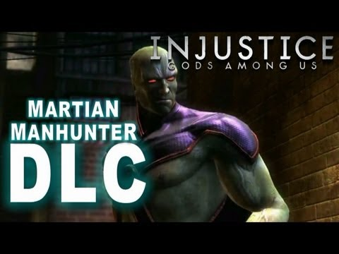 Injustice: Gods Among Us - Injustice DLC Martian Manhunter