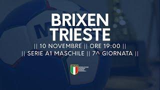 Serie A1M [7^]: Brixen - Trieste 23-22