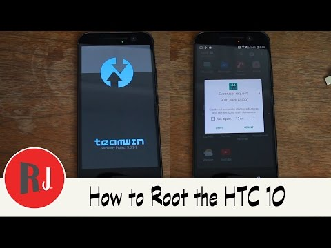 How to Root the HTC 10 and Install TWRP Recovery