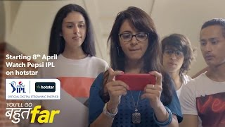 Watch Pepsi IPL 2015 on hotstar - Free Streaming of All Matches - 30 sec promo