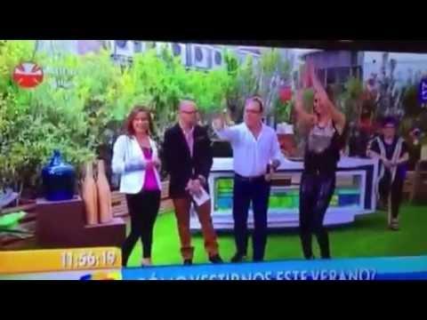 Fatimih Dávila in TV advertisement