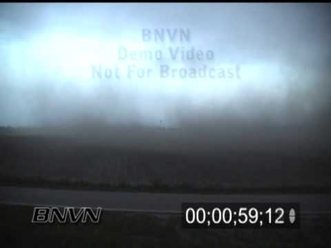 5/17/2000 High wind and dust storm video.