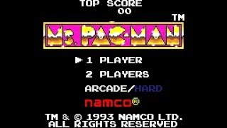 Game Gear Longplay [100] Ms. Pac-Man
