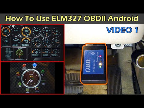 ELM327 OBDII Car Scan Tool - Pair to Android - Part 1