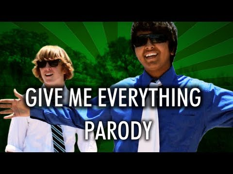 Pitbull - Give Me Everything Parody - Studying Tonight (now On Itunes!) video