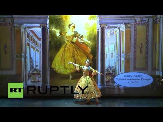 Russia: Classical art brought to life in dazzling costume show