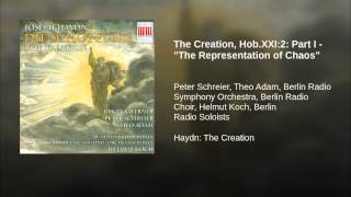 The Creation Hob Xxi 2 Part I 34 The Representation Of Chaos 34