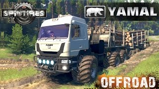 SpinTires YAMAL B-6 SGS Off-road Test