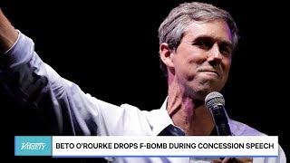 Beto O'Rourke Drops F-Bomb During Concession Speech