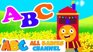 ABC Song | Learn the Alphabet on a Train | HD Nursery Rhymes