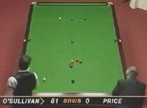 "Ronnie ""The Rocket"" O'Sullivan fastest 147"