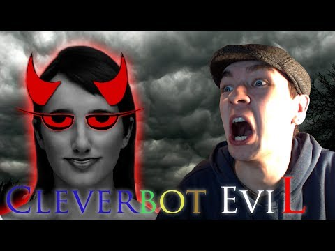 Cleverbot Evie | She Knows My Real Name! | Evie Is Evil video