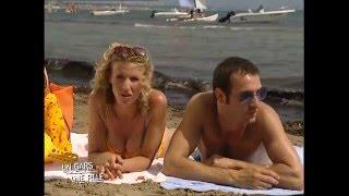 Un gars une fille - à la plage