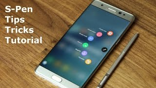 Samsung Galaxy Note 7: S-Pen Tips, Tricks, and Full Tutorial