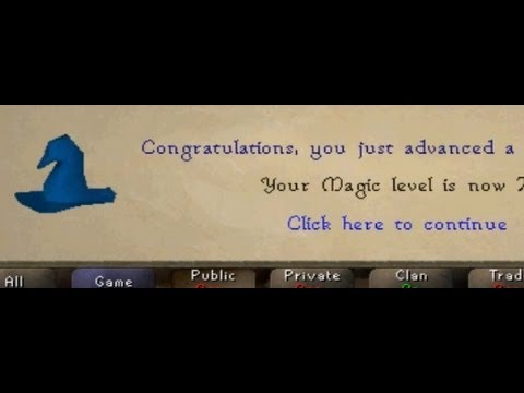 Runescape 2007 Fast Magic Guide!